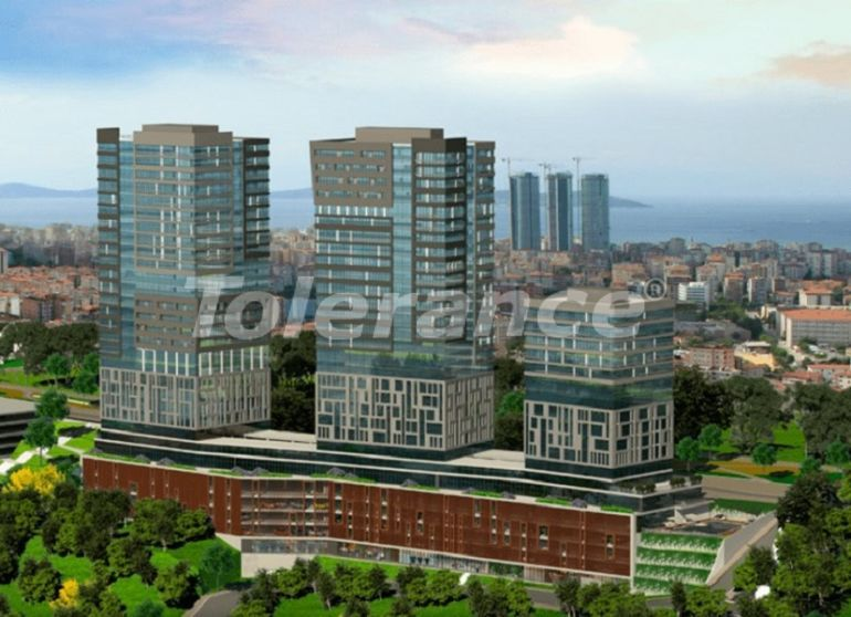 Commercial premises for shops in Istanbul in a residential complex from the developer - 27210 | Tolerance Homes