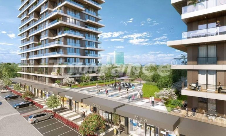 Commercial premises for a store in Istanbul with installments from the developer - 27335 | Tolerance Homes