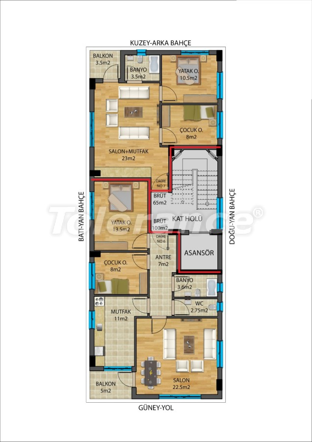 Modern apartments in Muratpaşa, Antalya from a reliable developer - 27338   Tolerance Homes