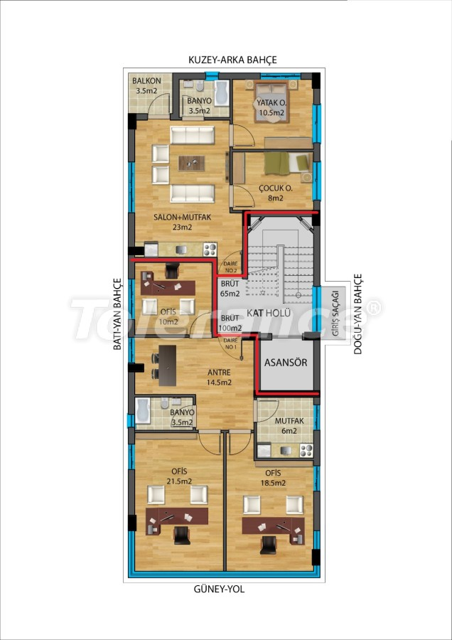 Modern apartments in Muratpaşa, Antalya from a reliable developer - 27340   Tolerance Homes