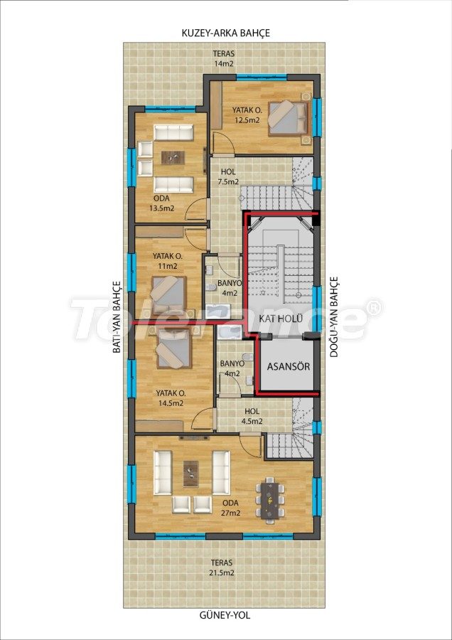 Modern apartments in Muratpaşa, Antalya from a reliable developer - 27337   Tolerance Homes