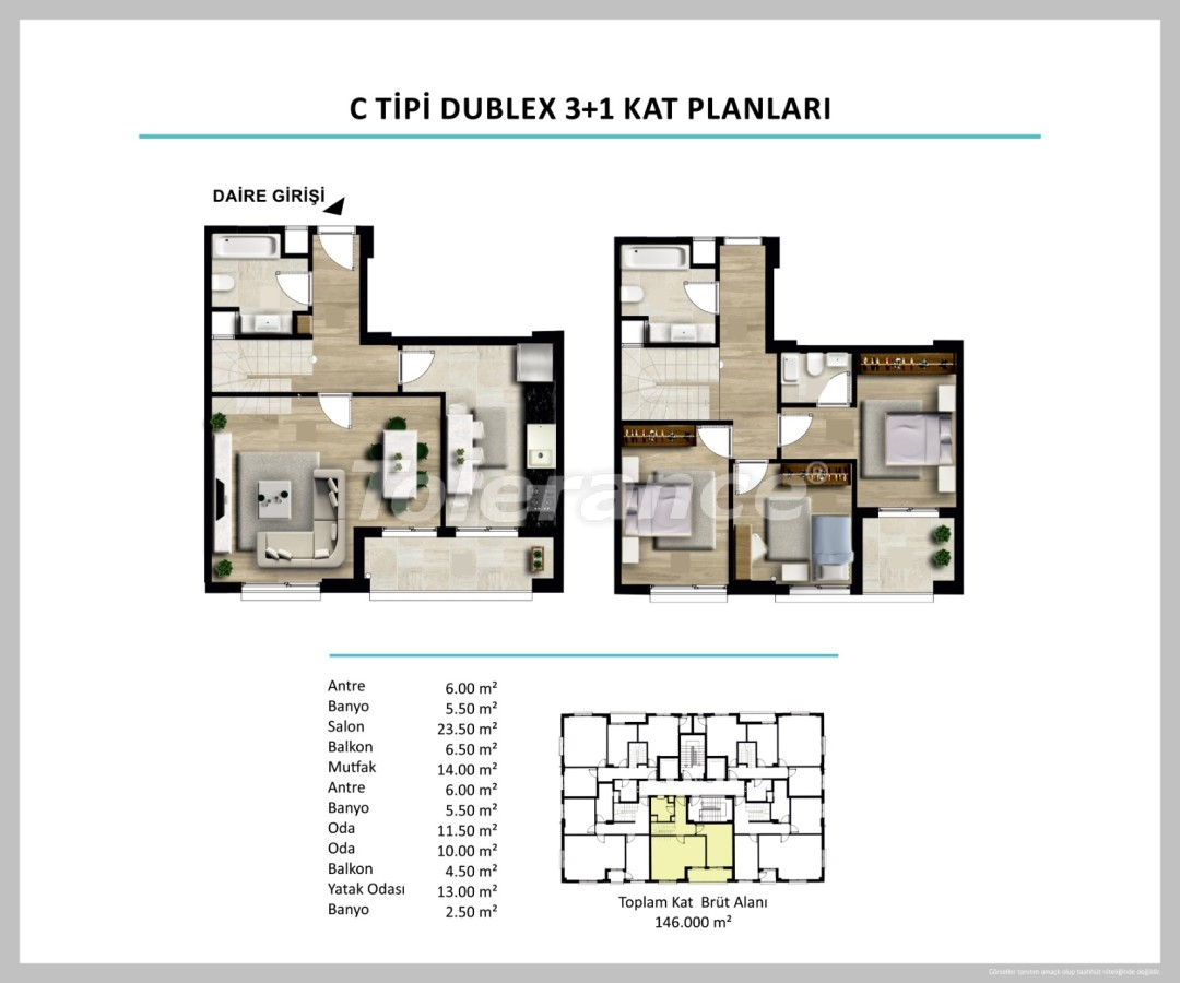 Apartments in Izmir from a reliable developer - 27506 | Tolerance Homes