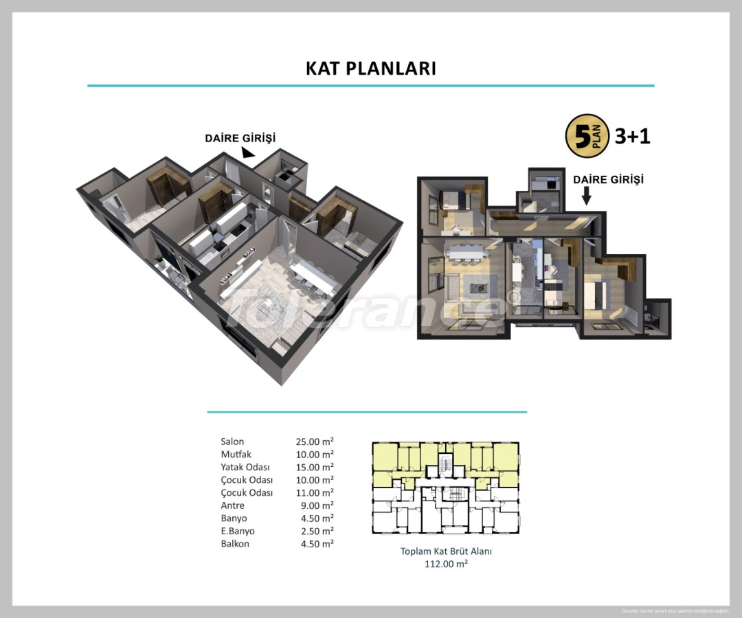 Apartments in Izmir from a reliable developer - 27504 | Tolerance Homes