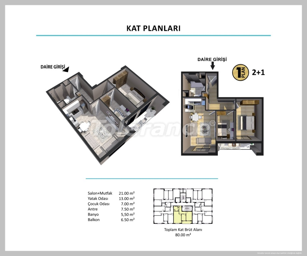 Apartments in Izmir from a reliable developer - 27510 | Tolerance Homes