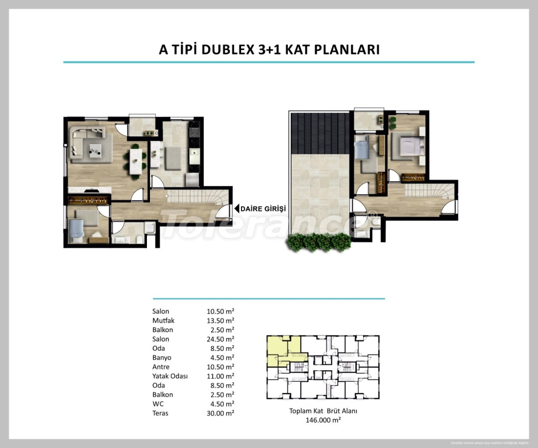 Apartments in Izmir from a reliable developer - 27505 | Tolerance Homes