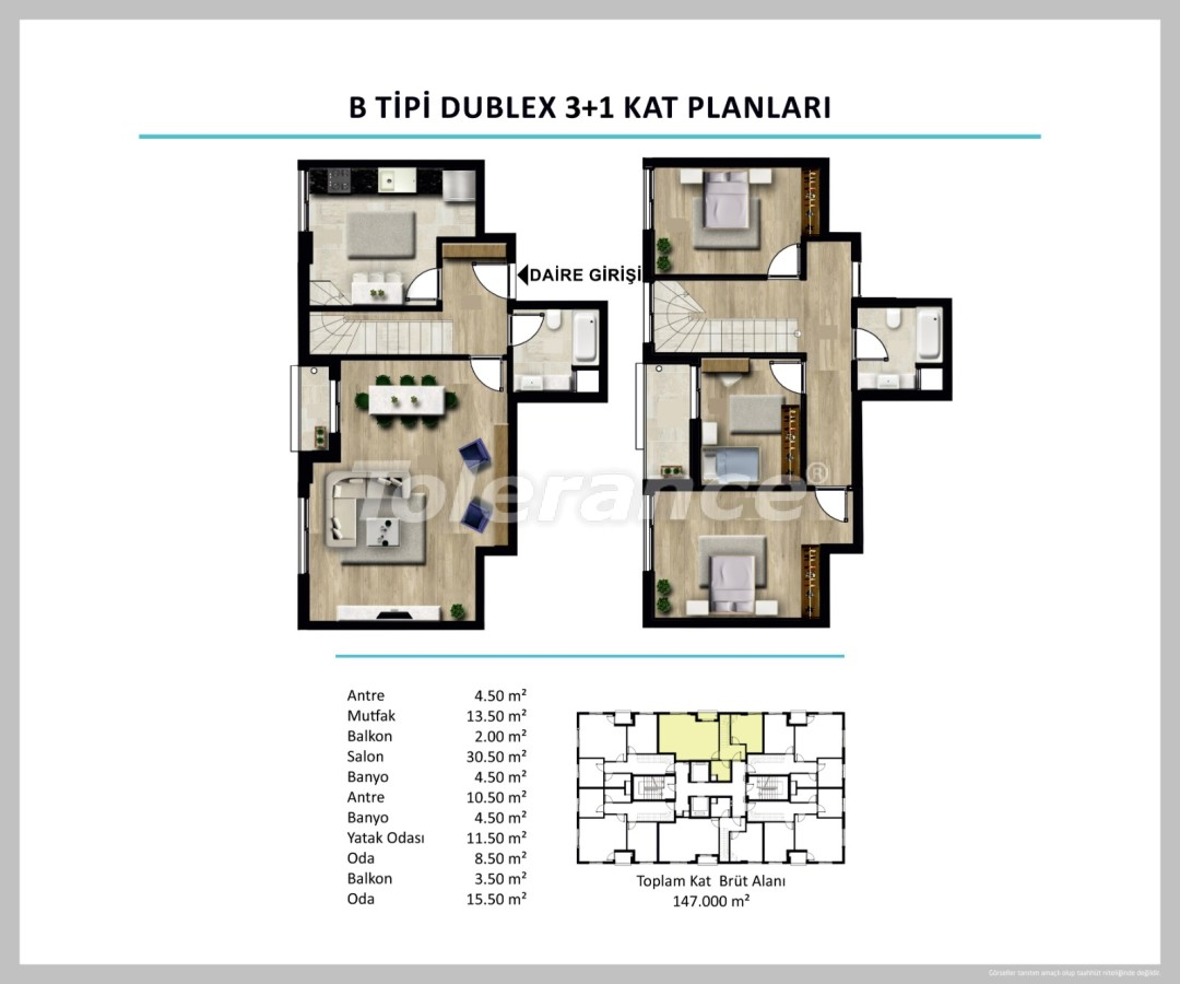 Apartments in Izmir from a reliable developer - 27507 | Tolerance Homes