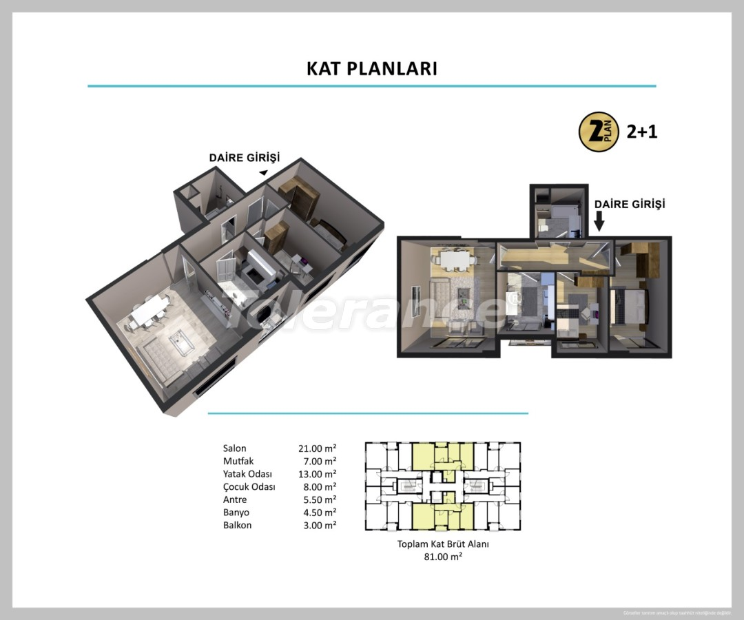 Apartments in Izmir from a reliable developer - 27511 | Tolerance Homes