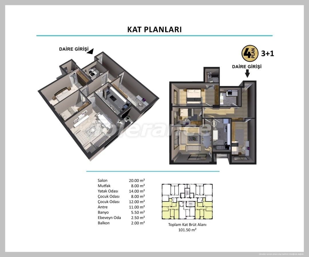 Apartments in Izmir from a reliable developer - 27512 | Tolerance Homes