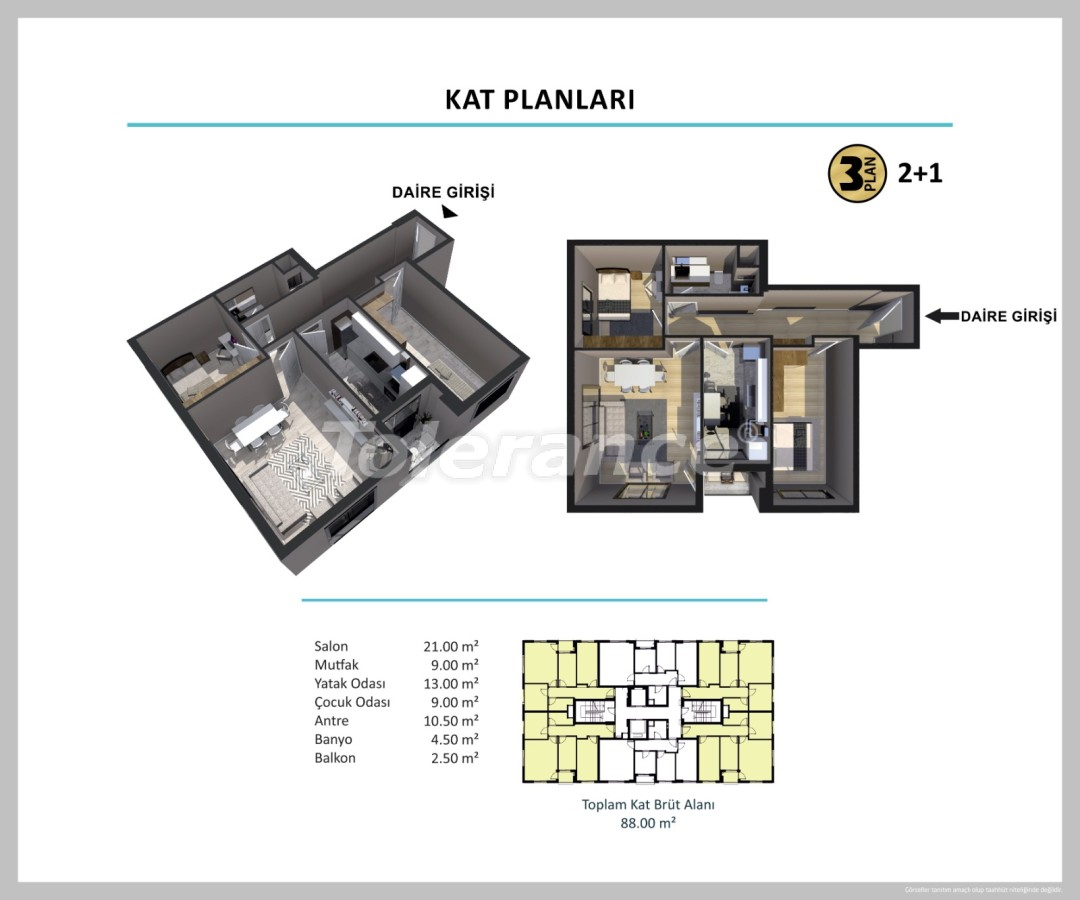 Apartments in Izmir from a reliable developer - 27509 | Tolerance Homes