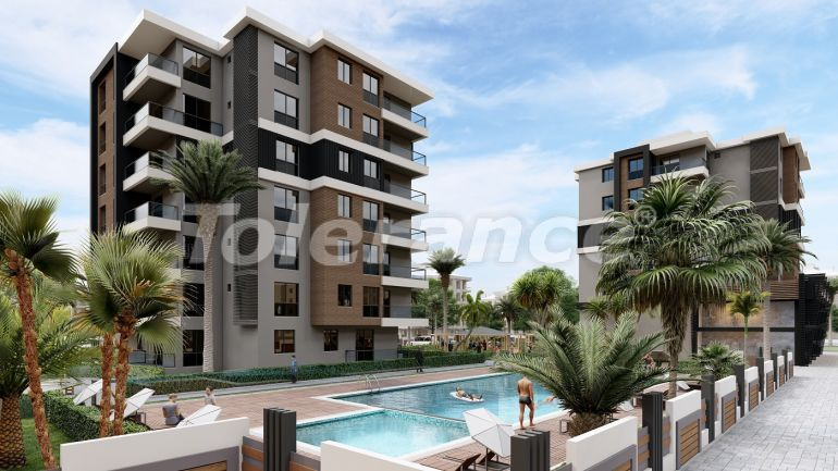 Profitable investments: apartments in Kepez, Antalya from the developer - 27593   Tolerance Homes