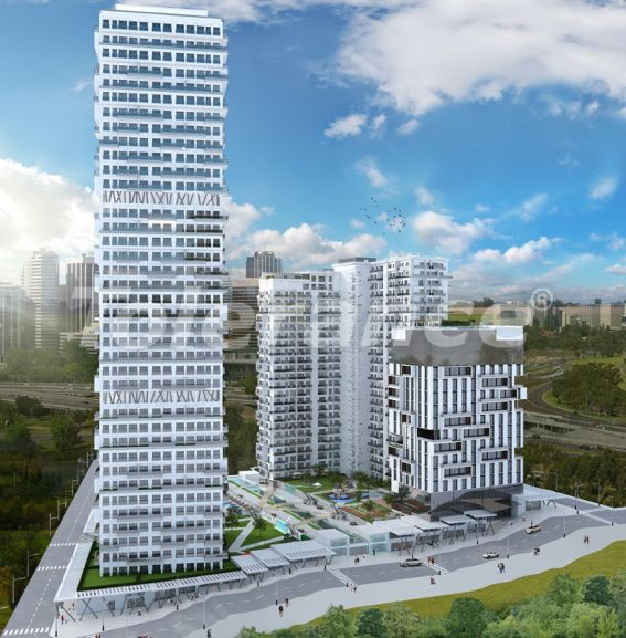 Spacious apartments in Esenyurt, Istanbul in a modern complex with installments up to 1 year - 27602 | Tolerance Homes
