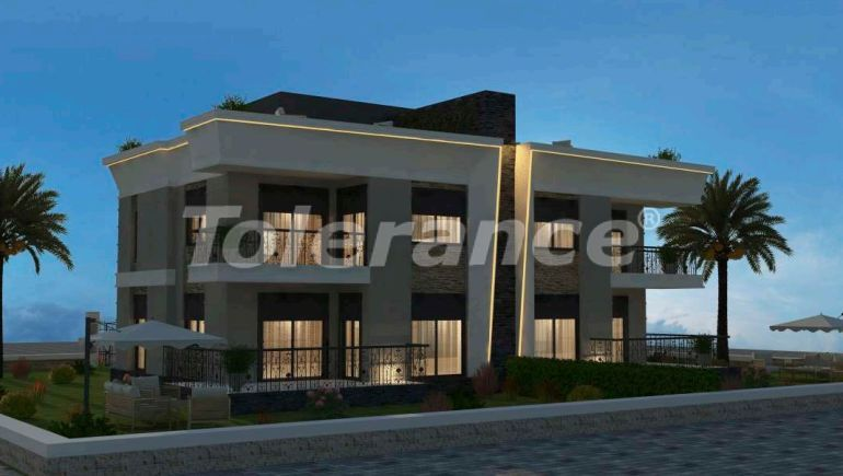 Inexpensive modern villas in Kargicak, Alanya in a complex with a pool by installments from the developer - 27611   Tolerance Homes