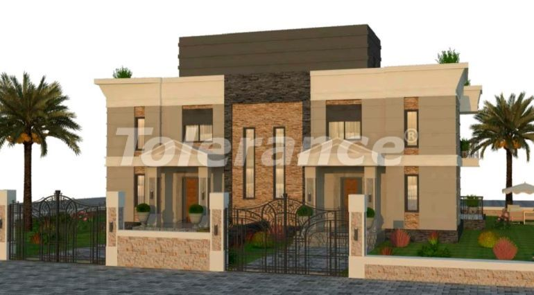 Inexpensive modern villas in Kargicak, Alanya in a complex with a pool by installments from the developer - 27612   Tolerance Homes