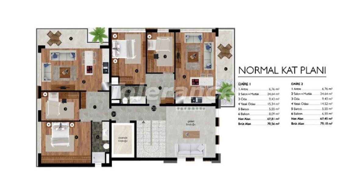 Luxury apartments in Izmir near the sea - 27633 | Tolerance Homes