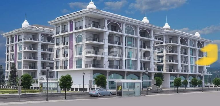 Luxury modern apartments in Kargicak, just 300 meters from the sea - 27765 | Tolerance Homes