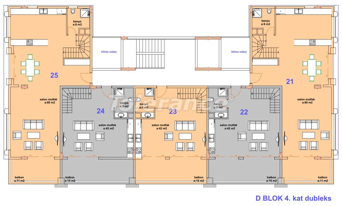 Luxury modern apartments in Kargicak, just 300 meters from the sea - 27761 | Tolerance Homes