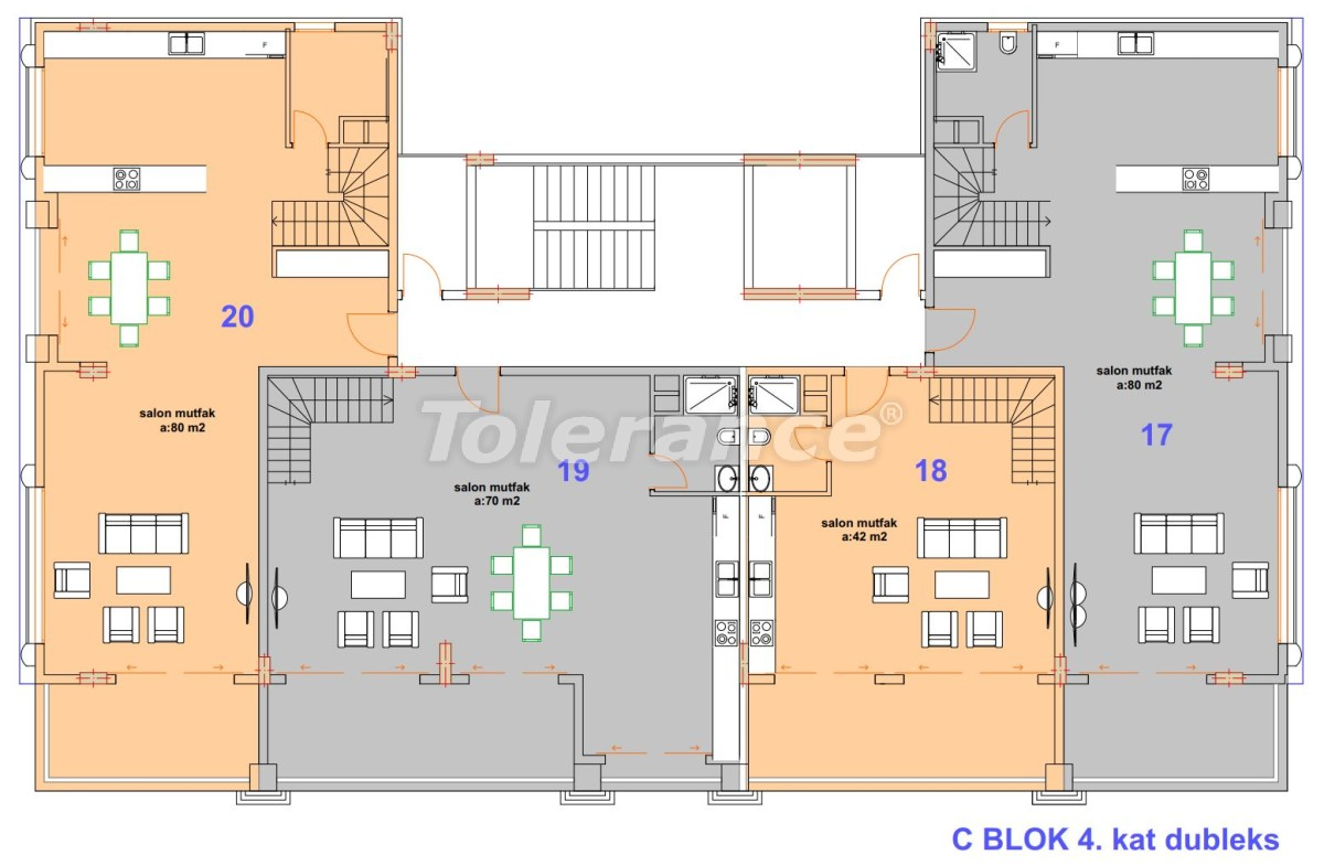 Luxury modern apartments in Kargicak, just 300 meters from the sea - 27758 | Tolerance Homes