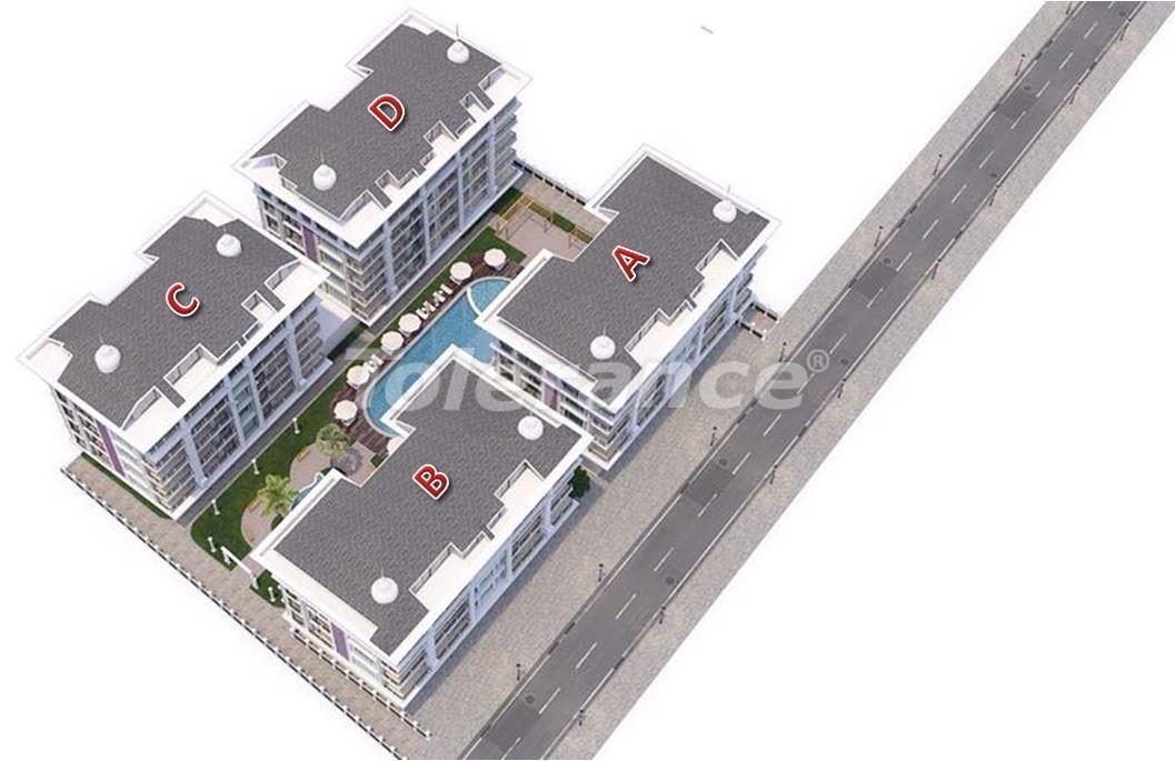 Luxury modern apartments in Kargicak, just 300 meters from the sea - 27754 | Tolerance Homes