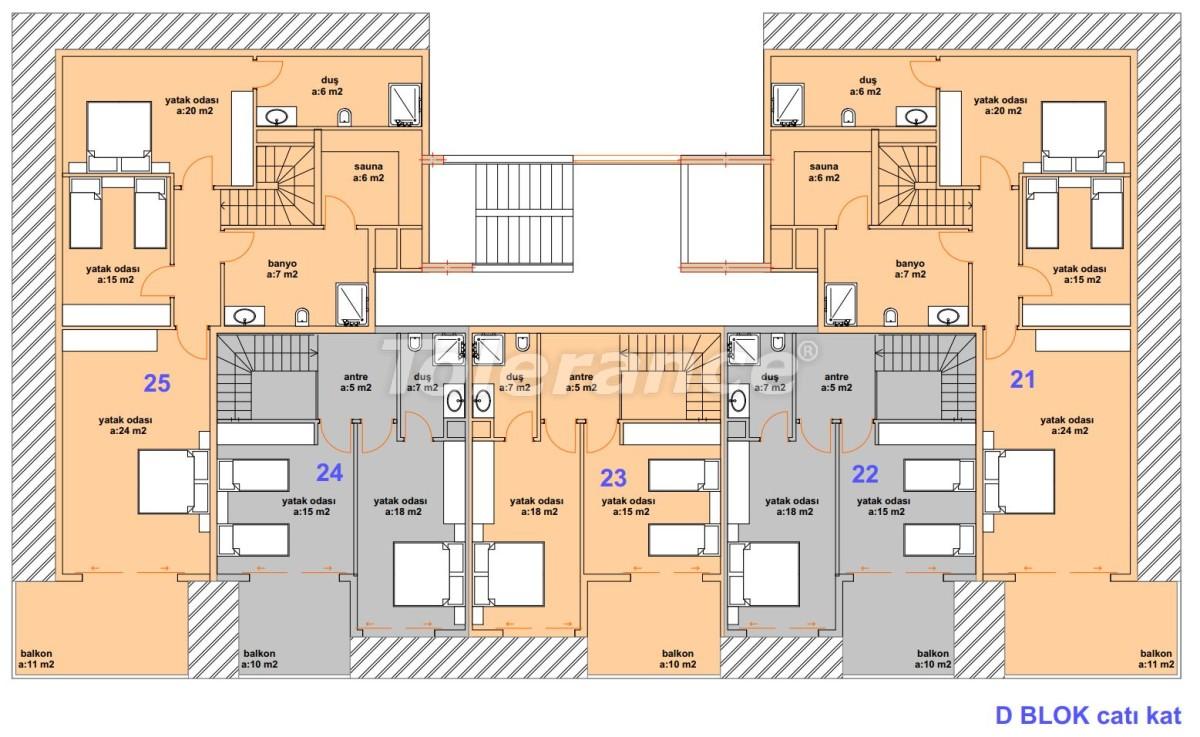 Luxury modern apartments in Kargicak, just 300 meters from the sea - 27762 | Tolerance Homes