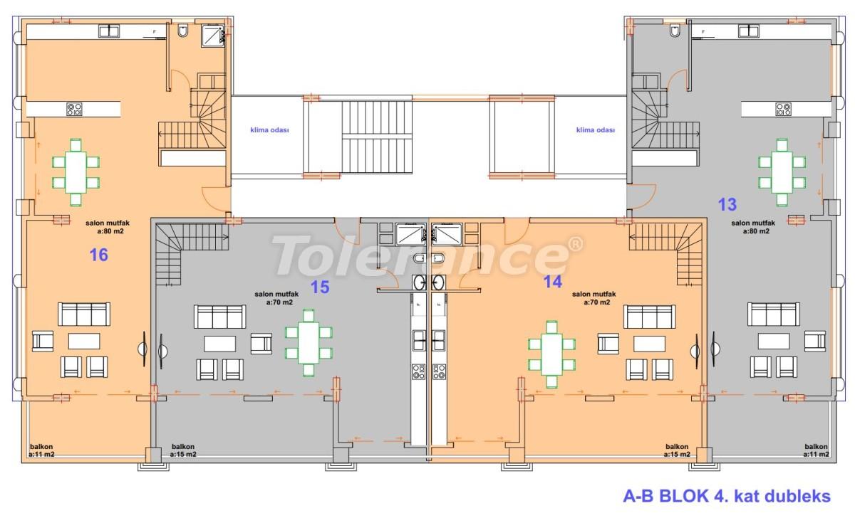 Luxury modern apartments in Kargicak, just 300 meters from the sea - 27756 | Tolerance Homes