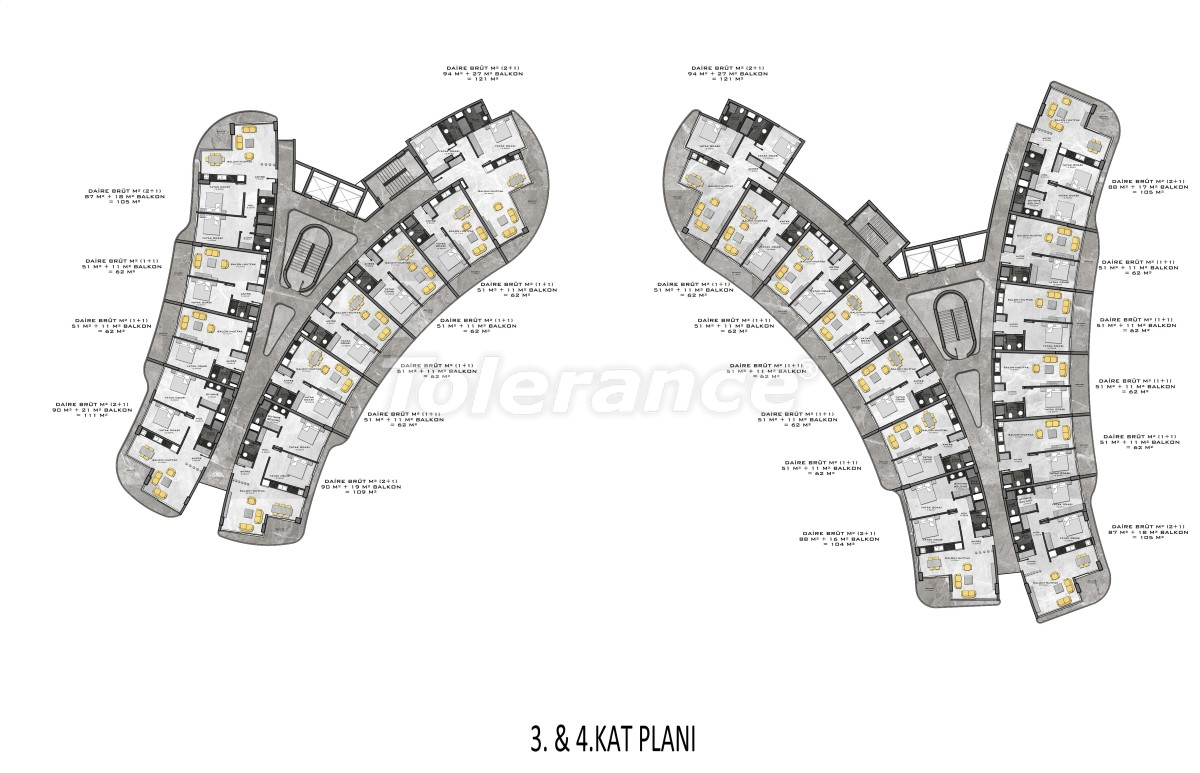 Complex of premium class, just 200 meters from the sea - 27950 | Tolerance Homes