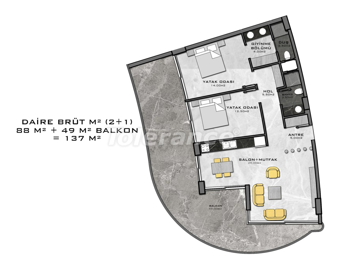 Complex of premium class, just 200 meters from the sea - 27949 | Tolerance Homes