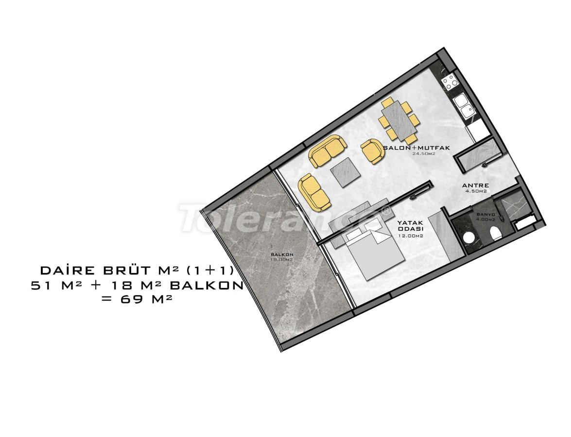 Complex of premium class, just 200 meters from the sea - 27939 | Tolerance Homes