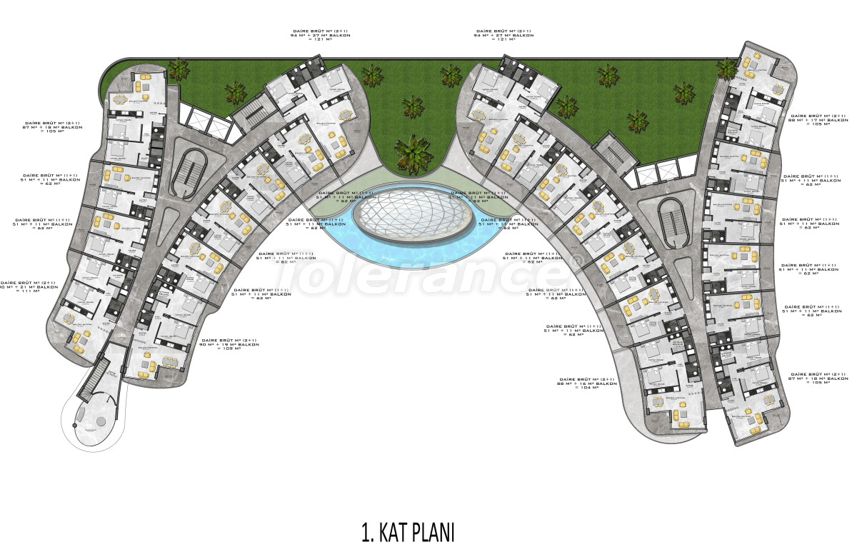 Complex of premium class, just 200 meters from the sea - 27934 | Tolerance Homes