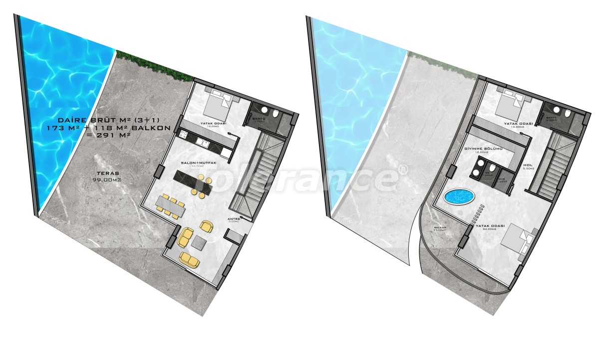 Complex of premium class, just 200 meters from the sea - 27956 | Tolerance Homes