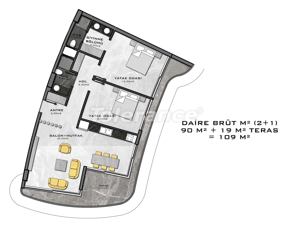 Complex of premium class, just 200 meters from the sea - 27945 | Tolerance Homes