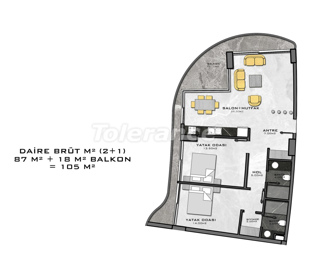 Complex of premium class, just 200 meters from the sea - 27942 | Tolerance Homes