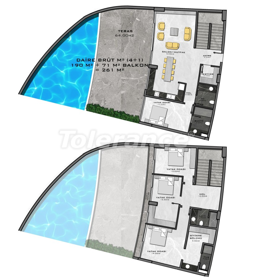 Complex of premium class, just 200 meters from the sea - 27957 | Tolerance Homes
