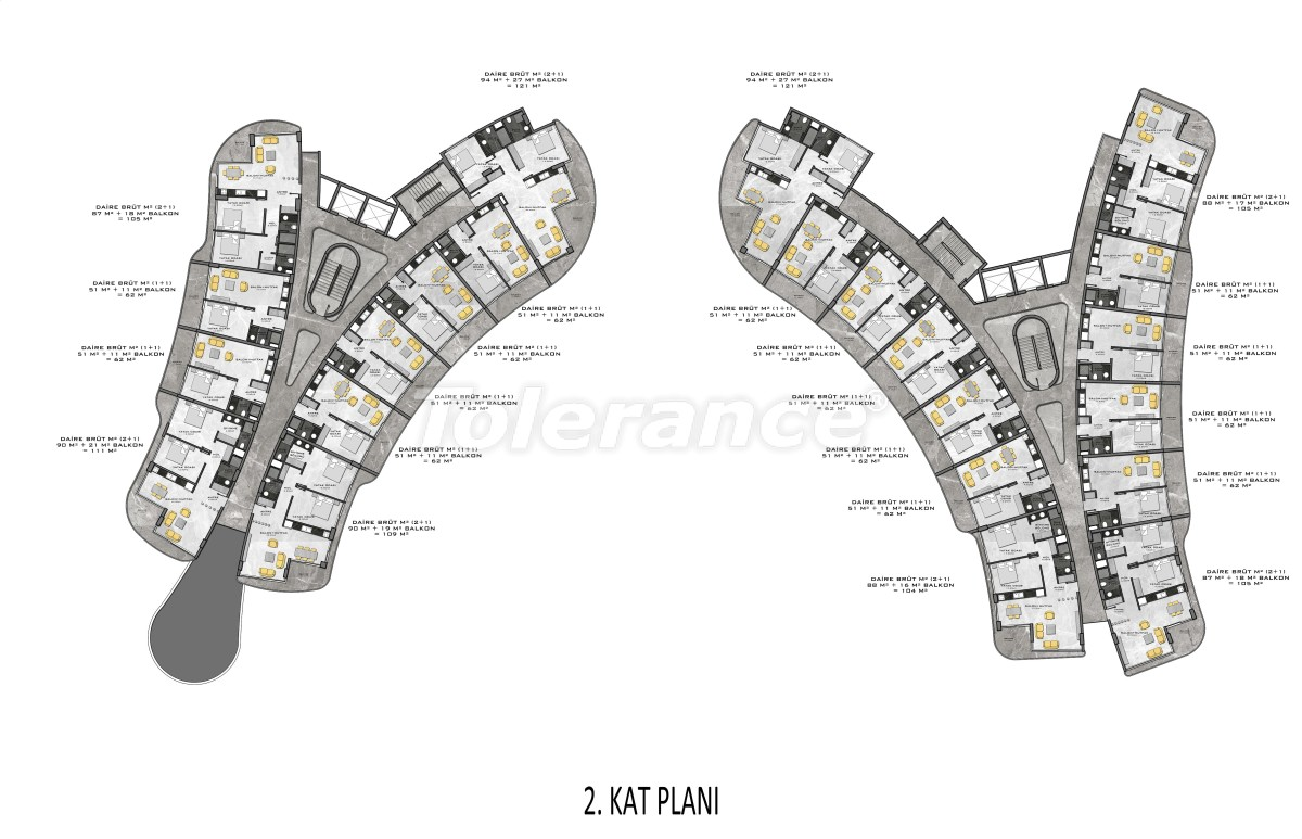 Complex of premium class, just 200 meters from the sea - 27940 | Tolerance Homes