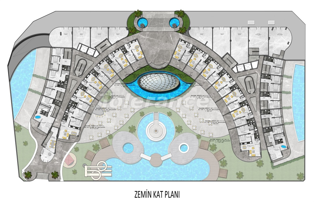 Complex of premium class, just 200 meters from the sea - 27959 | Tolerance Homes