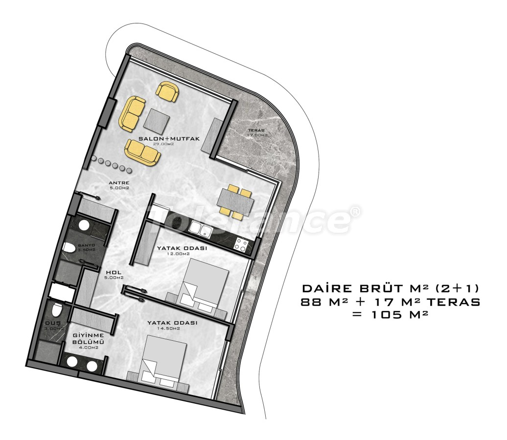 Complex of premium class, just 200 meters from the sea - 27944 | Tolerance Homes