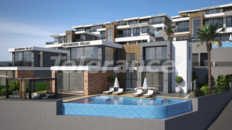 Luxury villas in Alanya with garage and private pool - 27982   Tolerance Homes