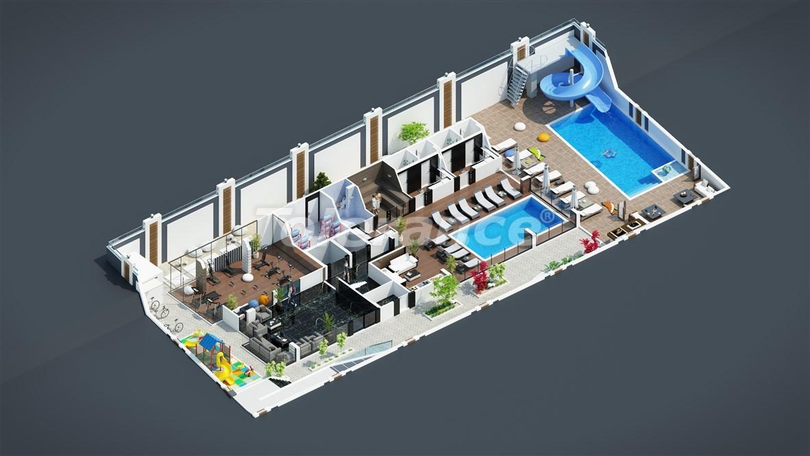 New affordable apartments in Mahmutlar near the sea - 28087 | Tolerance Homes