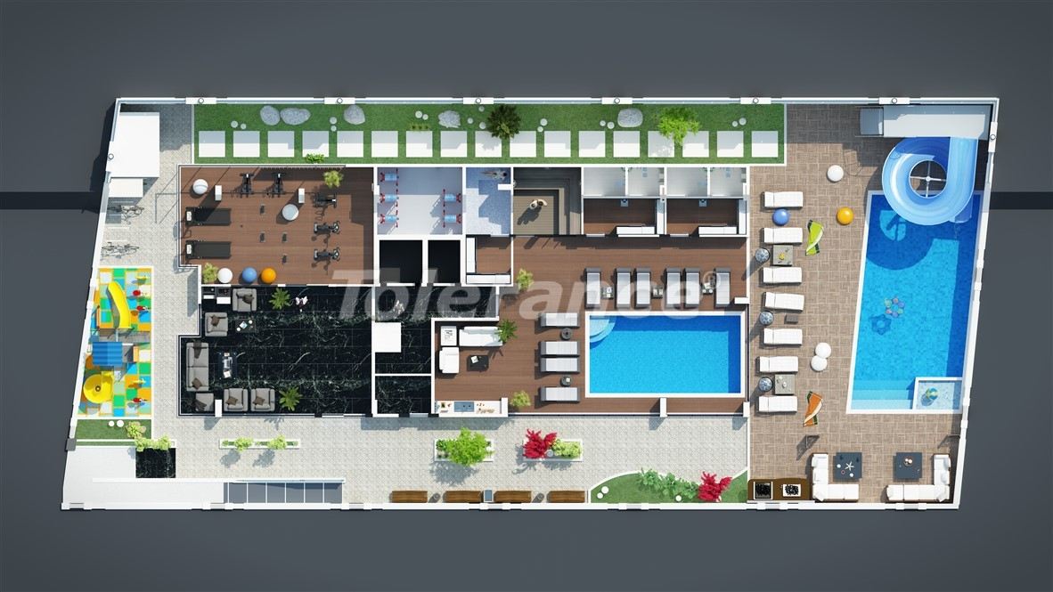 New affordable apartments in Mahmutlar near the sea - 28086 | Tolerance Homes