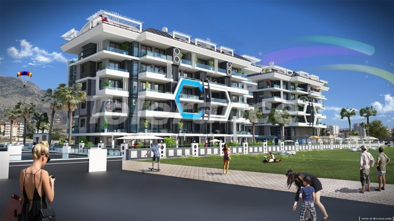 Apartments in Kargicak in the modern complex from the developer - 28268   Tolerance Homes