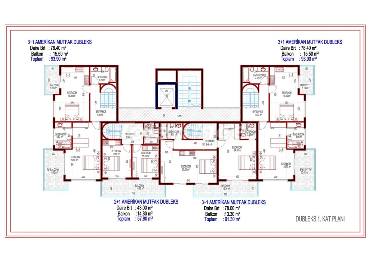 The promising project for investment in Mahmutlar - 28289 | Tolerance Homes