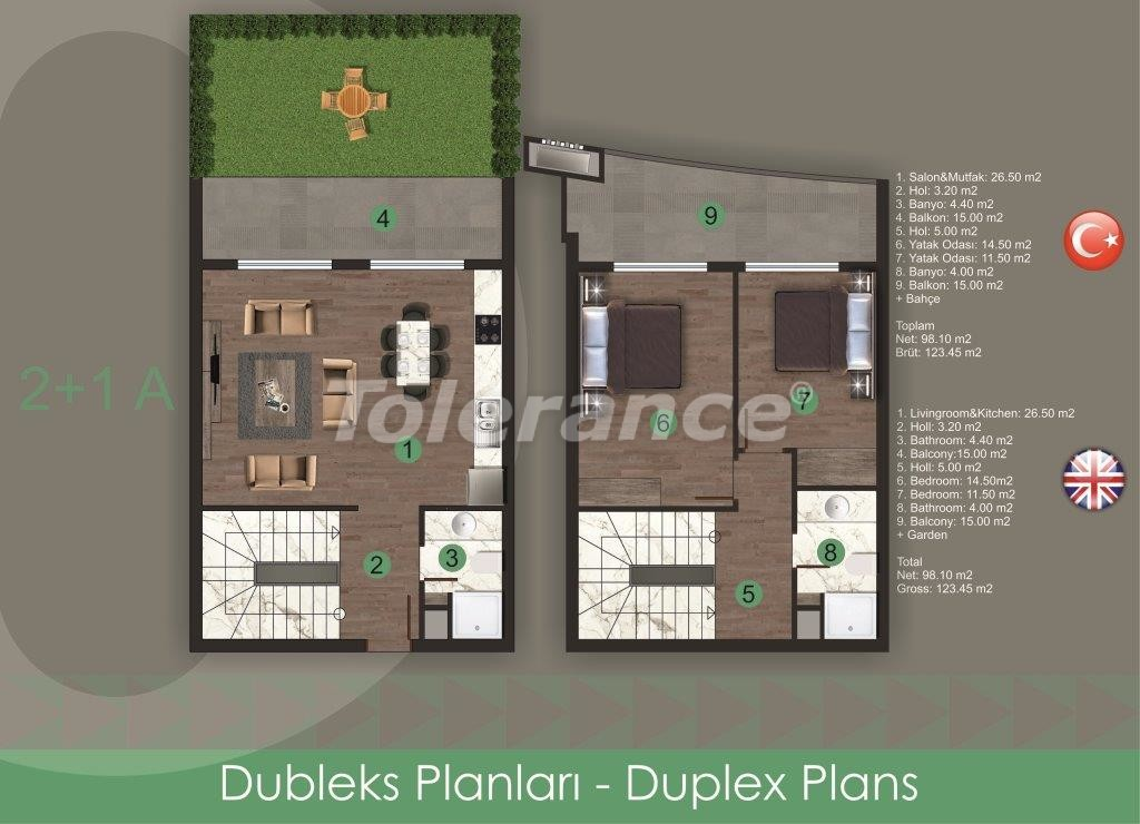 Modern apartments in Oba,  from the reliable developer with installments - 28719 | Tolerance Homes