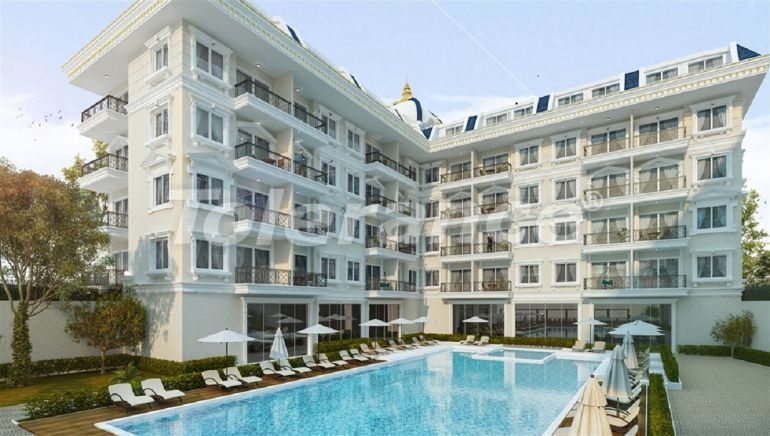 The new apartments in Oba  in a complex with a swimming pool - 28471 | Tolerance Homes