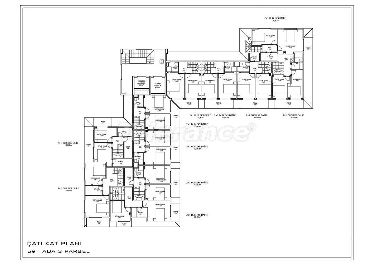 The new apartments in Oba  in a complex with a swimming pool - 28457 | Tolerance Homes