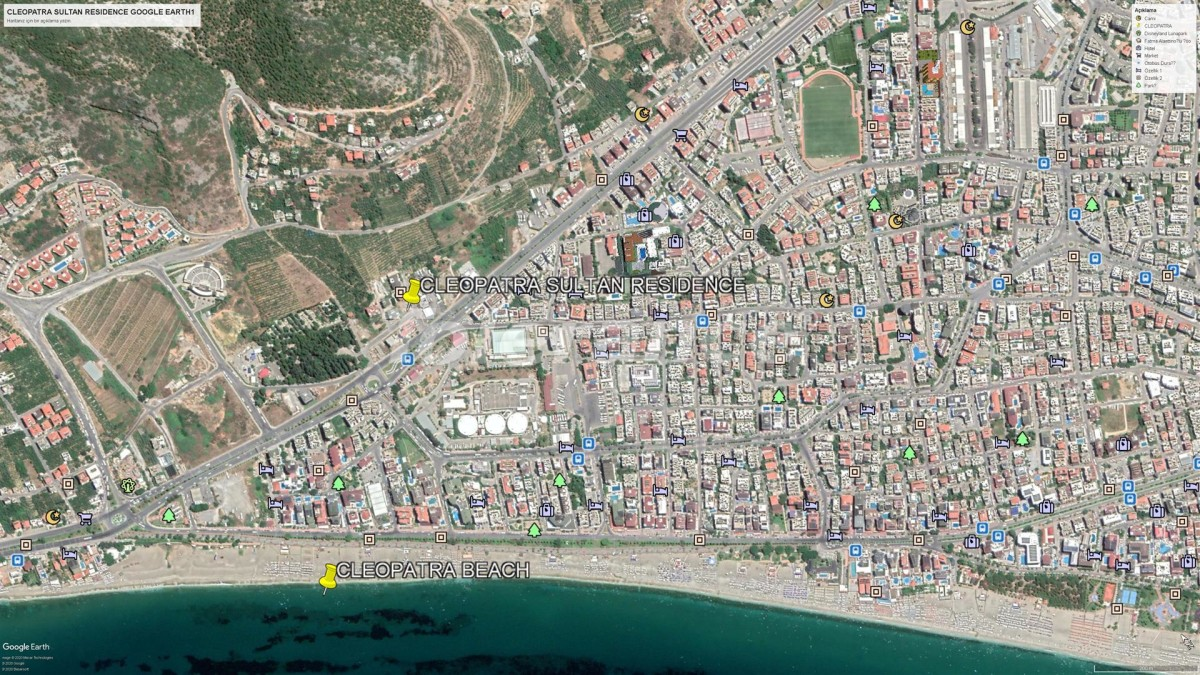 Elite apartments in Alanya near Cleopatra beach - 28567 | Tolerance Homes