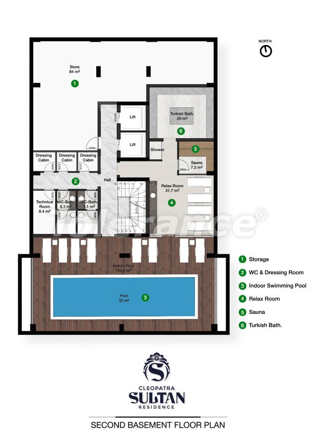 Elite apartments in Alanya near Cleopatra beach - 28560   Tolerance Homes