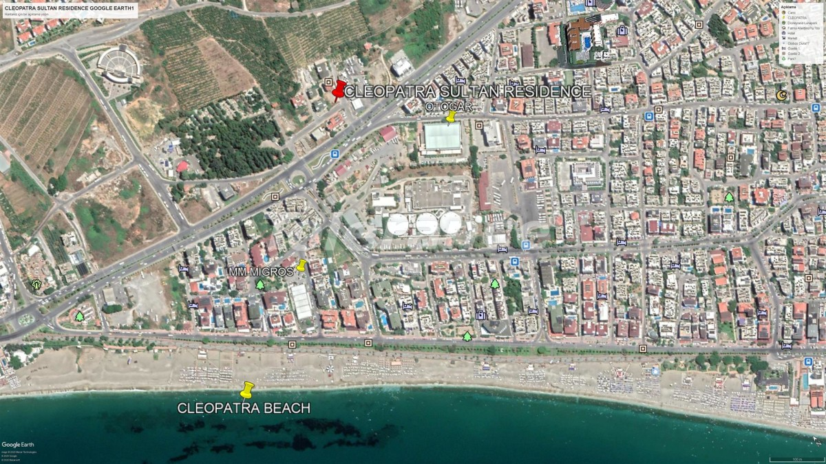 Elite apartments in Alanya near Cleopatra beach - 28566   Tolerance Homes