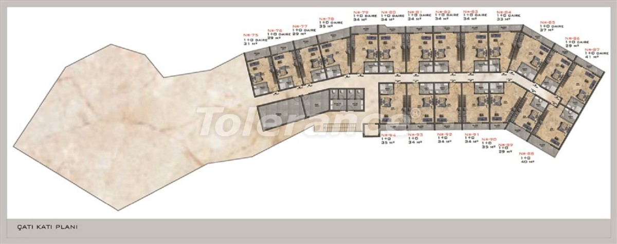 Modern apartments in Kargicak from the reliable developer with installments - 28678 | Tolerance Homes