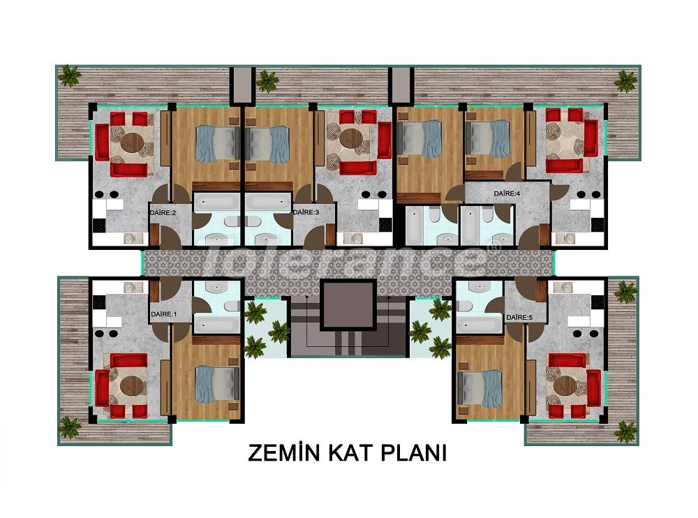 Comfortable apartments in Kargicak, from the developer - 28713 | Tolerance Homes
