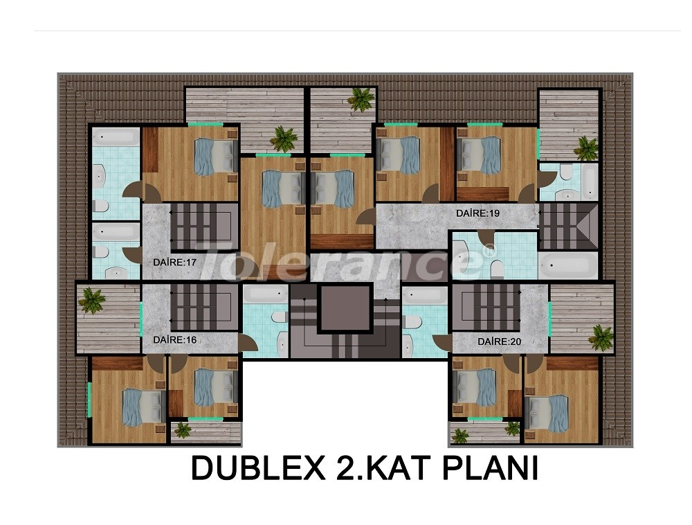 Comfortable apartments in Kargicak, from the developer - 28716 | Tolerance Homes