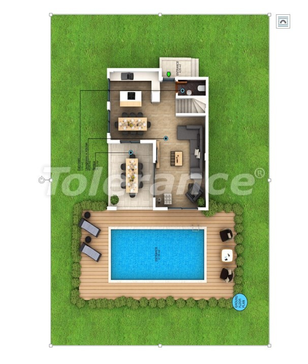 Modern villas in Fethiye with private pool and mountain views - 28768 | Tolerance Homes